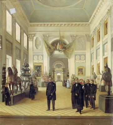 Interior of the Armoury Chamber in the Kremlin, 1844