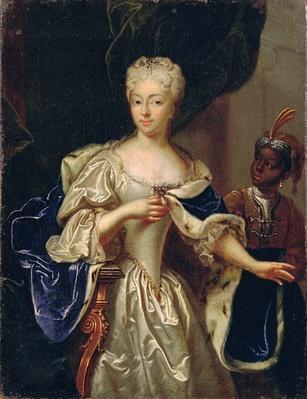 Portrait of Princess Charlotte of Brunswick-Luneburg, 1728