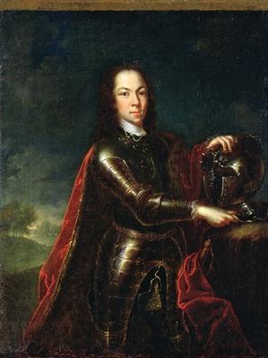 Portrait of Tsarevich Alexei Petrovich of Russia, 1728
