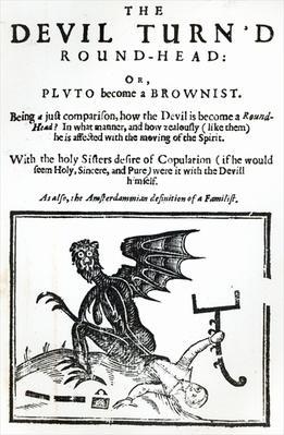 'The Devil turn'd Round-Head', c.1642