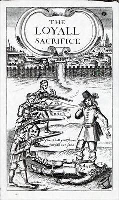 'The Loyall Sacrifice', pamphlet circulated in 1648