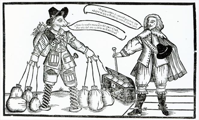 'The Complaint of M, Tenter-hooke the Projector, and Sir Thomas Dodger the Patentee', published in 1641