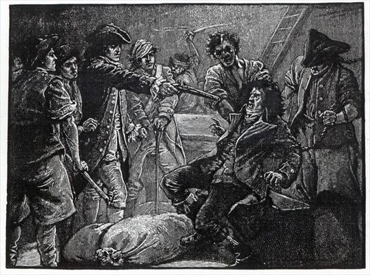 The Capture of Wolfe Tone in 1798