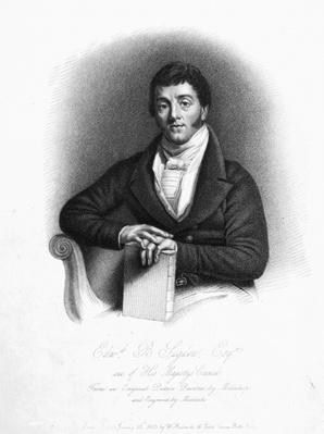 Edward Buttenshaw Sugden, 1st Baron St. Leonards, engraved by Maddocks, 1825