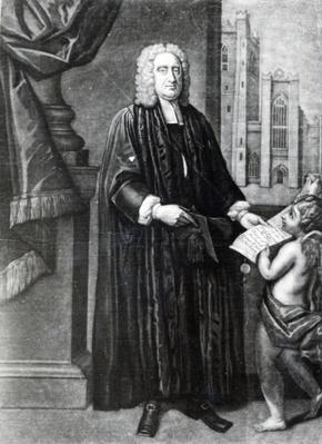 Jonathan Swift, engraved by Andrew Miller, 1743