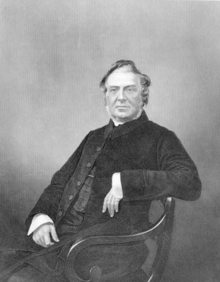 Reverend Hugh Stowell, engraved by D. J. Pound