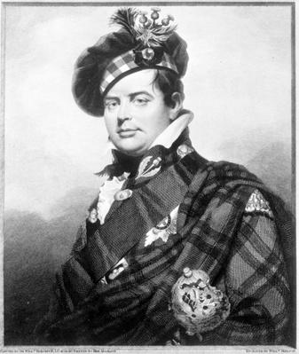 Prince Augustus Frederick, Duke of Sussex, engraved by William Skelton, 1816