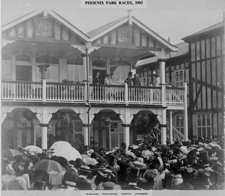 The first Phoenix Park Races, 1903