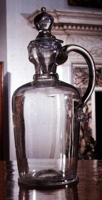 Decanter jug, Ravenscroft, c.1680