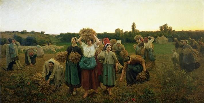 Calling in the Gleaners, 1859