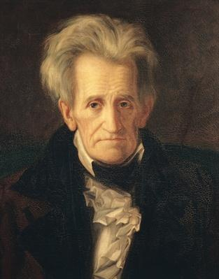 Portrait of Andrew Jackson (oil on canvas) by Healy, George Peter Alexander (1808-94)