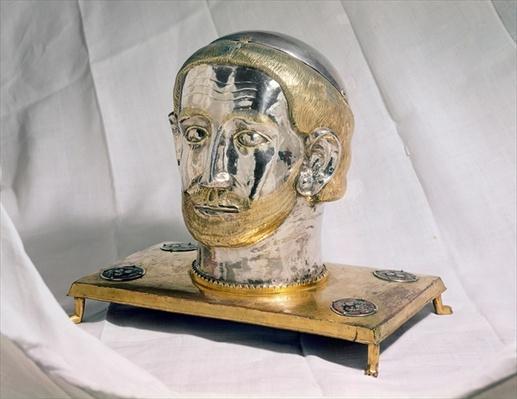 Reliquary head of St. Benedict