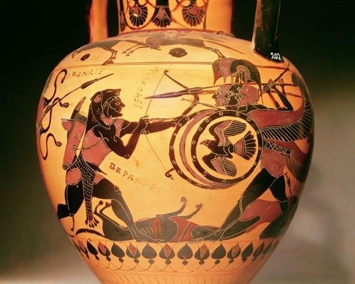 Heracles fighting Geryon