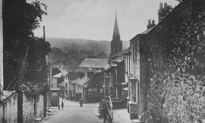 Bodmin Hill, Lostwithiel, Cornwall