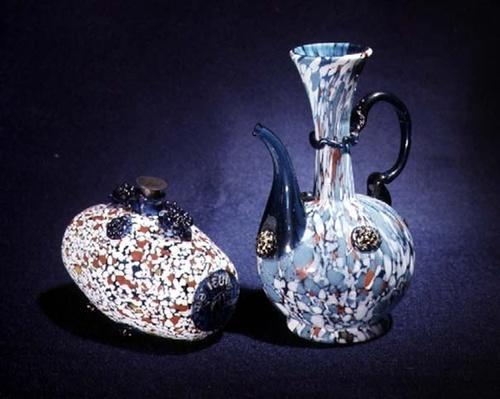 Barrel and jug, 17th century