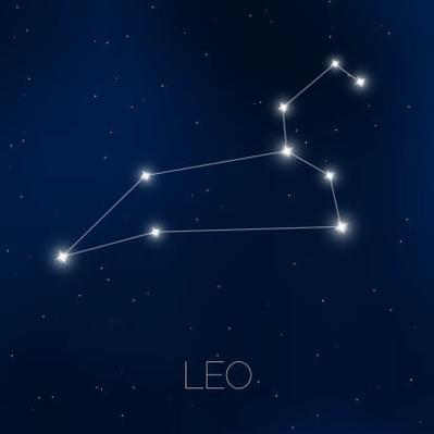 Leo constellation in night sky | Earth and Space