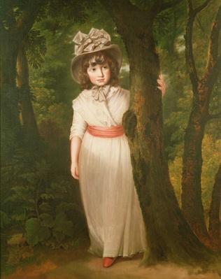 Miss Harriett Anne Seale as Bo-Peep