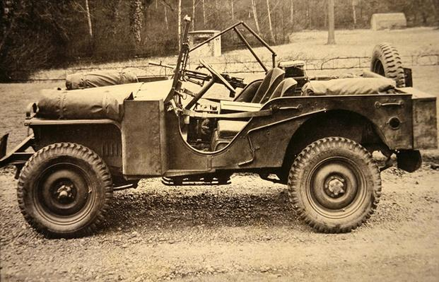 Jeep with Bantam engine, BRC model