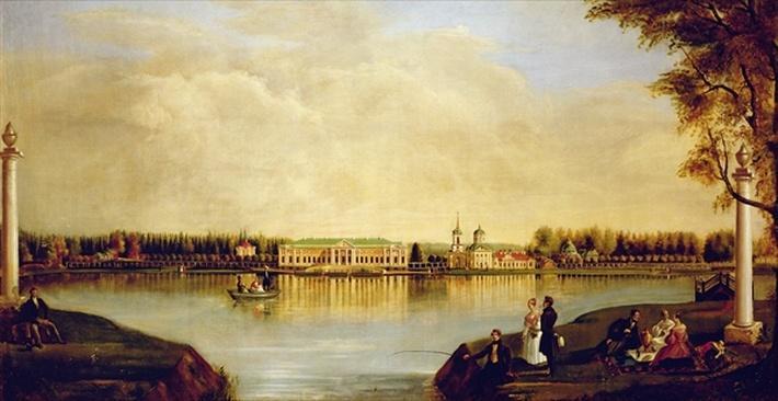 View of the Kuskovo Palace. 1839