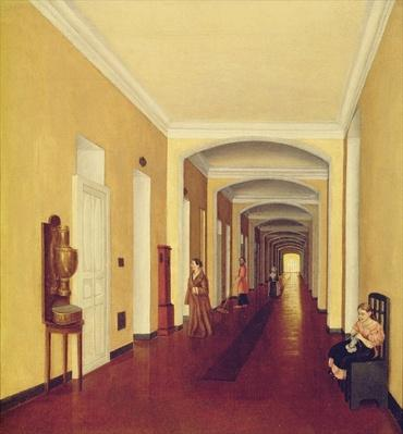 Interior in the Golitsyn Hospital, c.1840