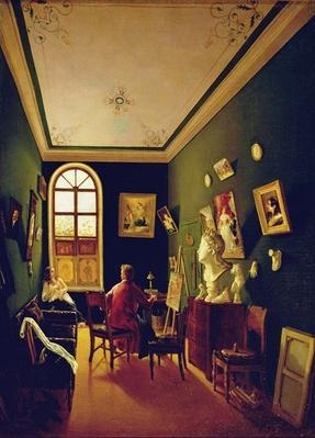 The Painter's Studio, 1843