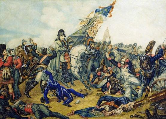The Battle of Waterloo in 1815, 1831