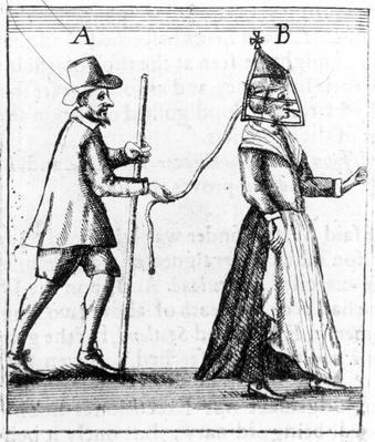 'Scold's Bridle', c.1649