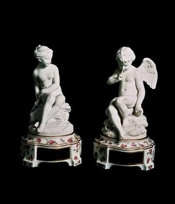 Cupid and Psyche, Sevres group, 1758