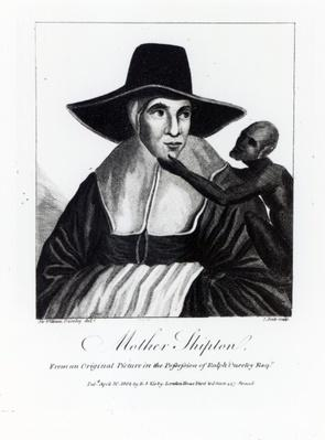 Mother Shipton, engraved by John Scott, 1804