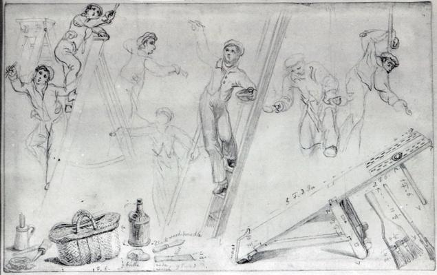 Illustration of Painting and Decorating