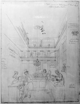 A London Liquor Shop, 1839