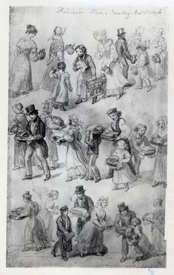 Delivering Dinner, 1841