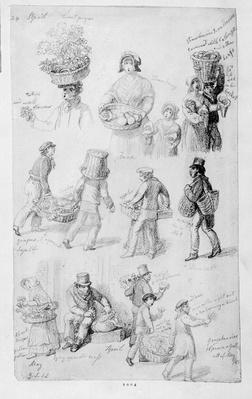 London Street Vendors: The Cries of London, 1843