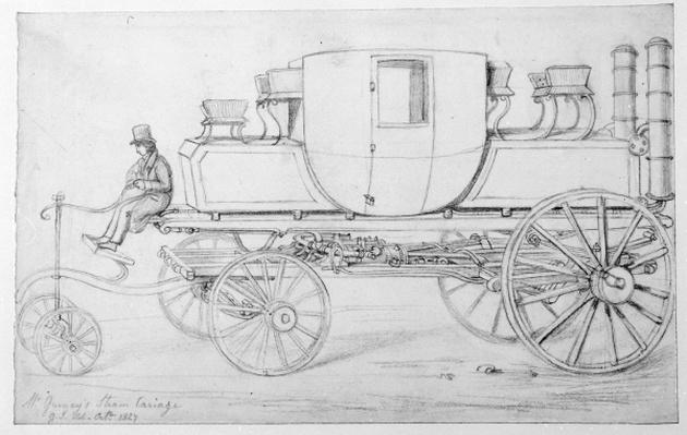 Gurney's Steam Carriage, 1827