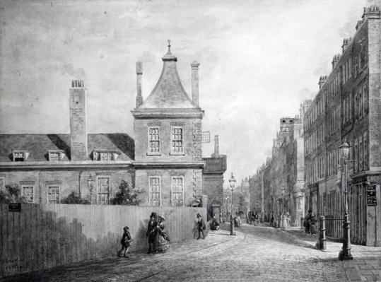 Montague House, Bloomsbury, London 1845-49