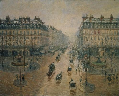 Avenue de L'Opera, Paris, 1898