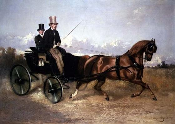 M. le comte de M. dans son Cabriolet