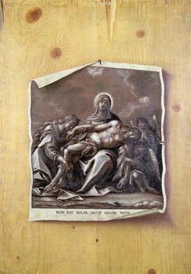 Trompe l'Oeil with Pieta