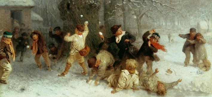 Snowballing, 1865