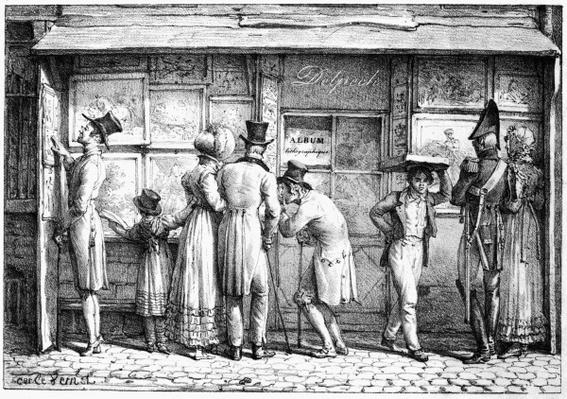 Delpech's Lithographic Print Shop, c.1818