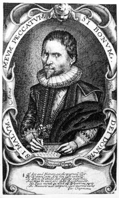 Portrait of a gentleman believed to be Thomas Harriot, c.1620