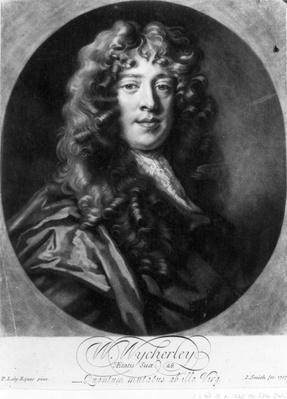 William Wycherley, engraved by John Smith, 1703