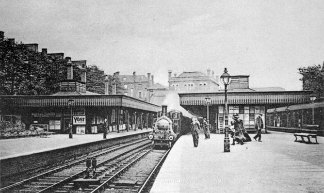 Canonbury Station, Islington, c.1905