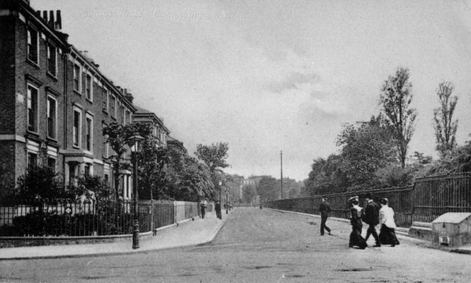 Douglas Road, Canonbury, Islington, c.1905