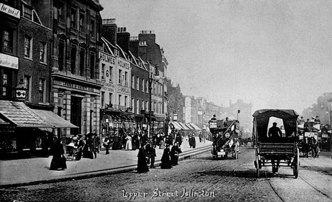 Upper Street, Islington, c.1906
