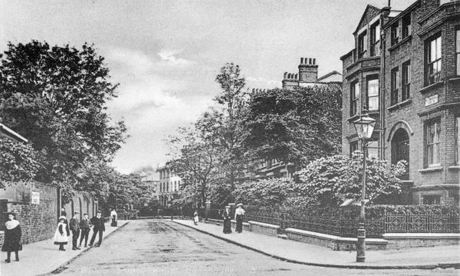 Willow Bridge Road, Canonbury, Islington, c.1905
