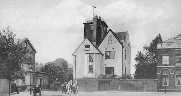 Canonbury Tower, Canonbury Square, Islington, c.1907
