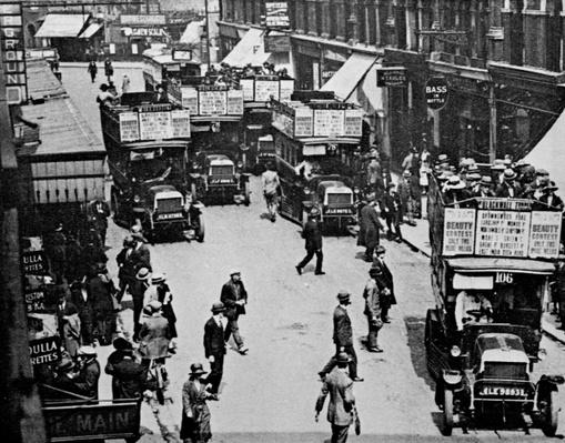 Finsbury Park Station, c.1923