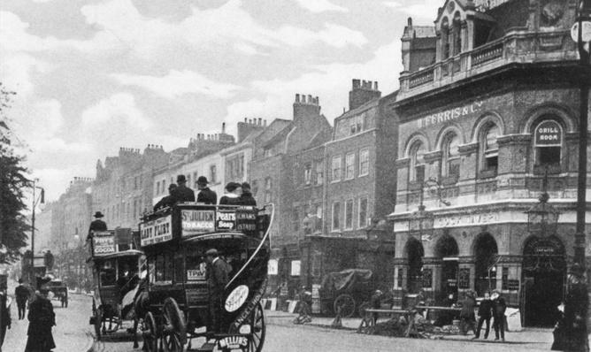 The Cock Tavern, Highbury, c.1900