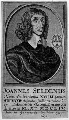 John Selden, 1672